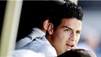 Real Madrid: James Rodriguez không tồn tại trong mắt Zidane