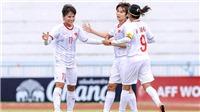 Nữ Việt Nam vs nữ Thái Lan: Thách thức lịch sử (18h00 hôm nay, trực tiếp bóng đá)