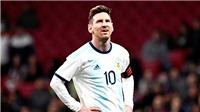 Copa America 2019: Messi vẫn nợ Argentina một chiếc Cúp