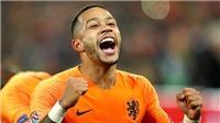 Memphis Depay: Thất bại ở MU nhưng tái sinh cùng tuyển Hà Lan