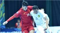 Futsal Việt Nam chưa ra ngõ đã gặp núi