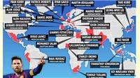 Những 'Messi của châu Á': Từ Sardar Azmoun đến Chanathip