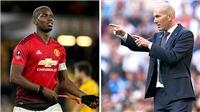 Zidane công khai mời gọi Paul Pogba: Lời tỏ tình kiểu Pháp