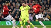 Barca vs MU: Messi nguy hiểm cả khi không ghi bàn