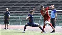 U22 Việt Nam vs U22 Indonesia: HLV Nguyễn Quốc Tuấn trổ tài