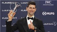 Novak Djokovic giành giải thưởng Laureus: Thành công không phẳng lặng