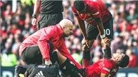 M.U 0-0 Liverpool: Bão chấn thương không thể quật ngã được M.U