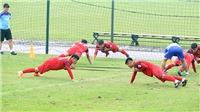 U23 Việt Nam bận rộn đá giao hữu