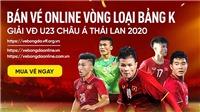 VFF bổ sung thêm vé bán online vòng loại U23 châu Á