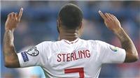Đội tuyển Anh: Tháng 3 ngọt ngào của Raheem Sterling