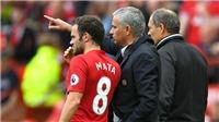 M.U: Mata sẽ lại cứu Jose Mourinho?