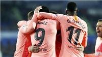 Barcelona vô địch lượt đi: Mới chỉ nóng vỏ bên ngoài