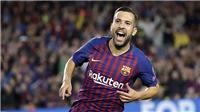 Barca run rẩy vì Juventus săn đón Jordi Alba