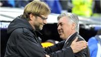 Cúp C1 đêm nay: Klopp, Ancelotti và cái duyên Liverpool