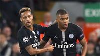 Cúp C1: Nếu bị loại, PSG phải bán Neymar và Mbappe?