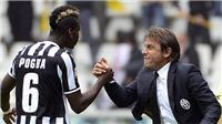Nhìn Pogba ở M.U hiện tại lại nhớ tới Conte