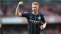 Man City vs Tottenham: De Bruyne trở lại, Man City lợi hại muôn phần