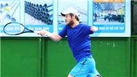 Alex Hunt: VĐV quần vợt cụt tay gây sốt ở giải Vietnam F4 Futures