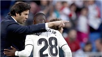 Real Madrid: Vận may của Solari