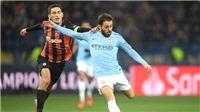 Man City vs Shakhtar: Bernardo Silva sẽ giúp Man City vơi nỗi nhớ De Bruyne