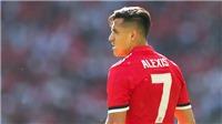 Alexis Sanchez: Nạn nhân mới nhất của lời nguyền số 7