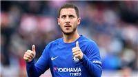 Chelsea chưa thể giúp Hazard giành bóng Vàng