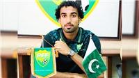 Ngôi sao Saddam Hussein của U23 Pakistan: Có người hỏi tôi: 'Cậu vẫn còn sống à?'