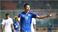 U23 Thái Lan thoát hiểm, U23 Trung Quốc 'đánh tennis'