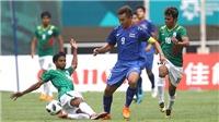 ASIAD 2018: Uzbekistan thể hiện đẳng cấp, Thái Lan chưa biết thắng