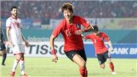U23 Hàn Quốc vẫn là ứng viên sáng giá ASIAD 2018?