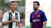 Messi và Ronaldo đang đình chiến tạm thời
