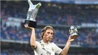 Modric sẽ rời Real Madrid trên ngai vàng?