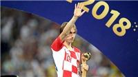 Cờ đến tay Modric trong các cuộc đua danh hiệu cá nhân