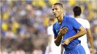 'Cơn gió lạ' của đội tuyển Brazil: Richarlison mới chỉ... chào sân