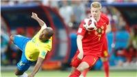 Bán kết World Cup 2018: De Bruyne luôn biết cách tạo khác biệt