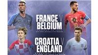 Bán kết World Cup 2018: Đón chào Nhà vua mới?