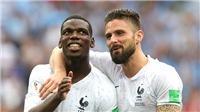 Hàng công Pháp: Giroud không ghi bàn, không vấn đề!