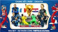 Pháp 4-2 Croatia: Mbappe và Deschamps đi vào lịch sử. Pháp vô địch World Cup