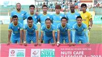 Sanna Khánh Hòa gần tấm huy chương V-League 2018