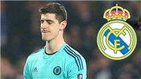 Real Madrid thắp sáng khung gỗ bằng... Courtois