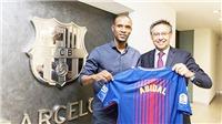 Vấn đề của Barca: Gánh nặng của Eric Abidal