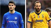 Chelsea bán Morata, mua Higuain là sai lầm?