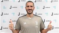Juventus: Bonucci trở về để chiến thắng