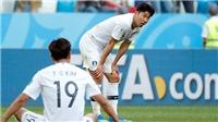 Hàn Quốc 1-2 Mexico: Vela và Chicharito tỏa sáng, Mexico bay cao ở bảng F