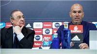 Perez không vội, sẽ chờ hết World Cup tìm người thay Zidane