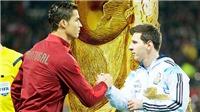 Ghi bàn như Mueller hay Klose ở World Cup là giấc mơ của Messi và Ronaldo