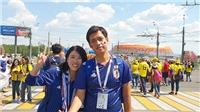 Ký sự World Cup: Trải nghiệm chiến thắng cùng đội tuyển Nhật