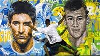 Neymar và Messi tái hợp làm từ thiện