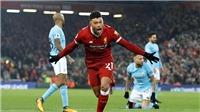 Với Man City, Liverpool quan trọng hơn cả M.U