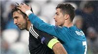 Ở Champions League, Buffon chỉ là kẻ tầm thường